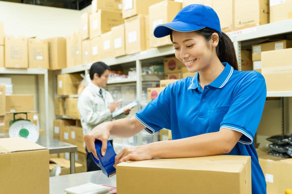 アパレル商品の梱包方法について